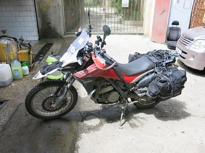 Dirrrrrty bike!