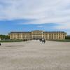 Schönbrunn castle from the gardens