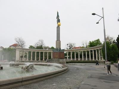 Soviet Army WW2 memorial