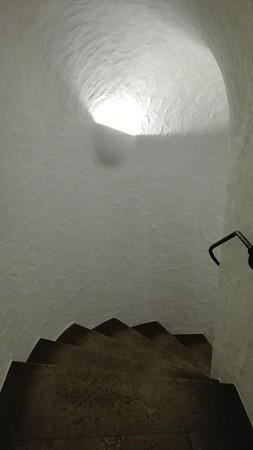 Stairway to cellar Restaurant