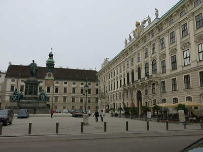 Inner square at the Spanish Riding School, Vienna