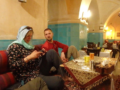 Dinner in a traditional restaurant in Tabriz