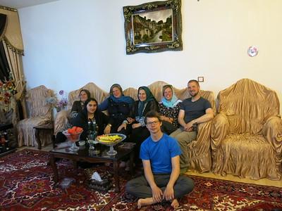 The lovely and very hospitable Samimi family