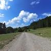 Gravel highway between Telavi and Tianeti