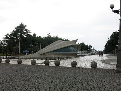 Dragon hiding underneath Batumi