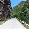 Steep cliffs in Svaneti