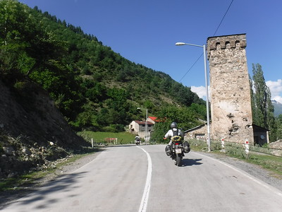 Traditional tower in Mestia