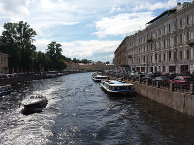 One of the many canals crossing Nevsky Prospect