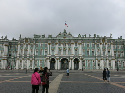Russian Tsar's winter palace