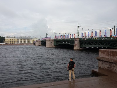 One of St Peterburg's many bridges