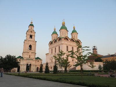Russian Orthodox church in the Astrakhan Kremlin.