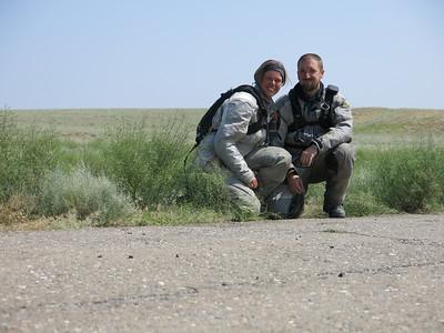 Steppe shot