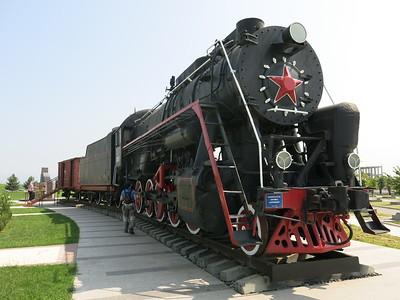 Soviet Military train
