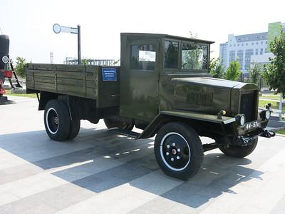 Restored military truck