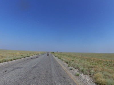 Sweating on the steppe