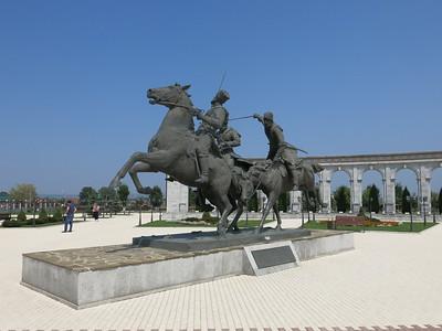 Inghusetian war memorial