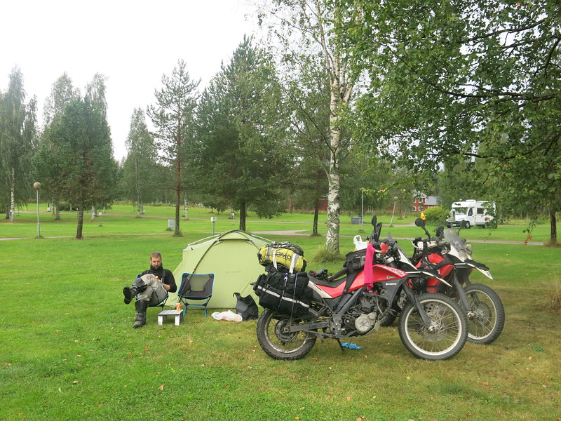 First and cheapest camp site in Finland