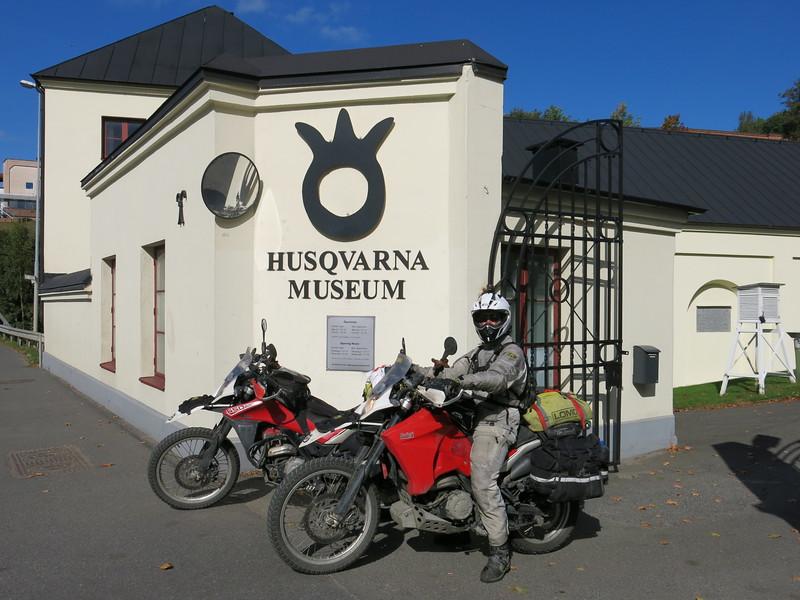 Husqvarna museum B&B