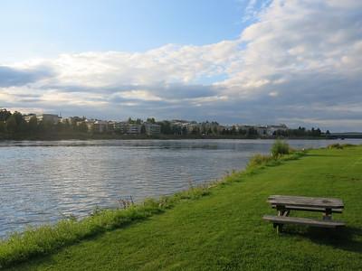 View over Rovaniemi
