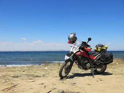 Terra on a Marmara beach