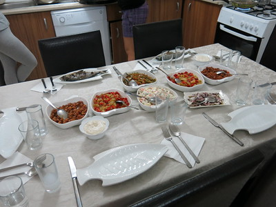 Seafood specialities at Hassan's place