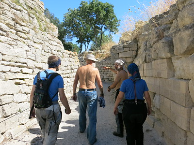 Exploring the remains of Troy