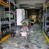 Tyre change at Bandirma