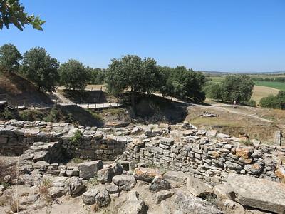 Troyan ruins