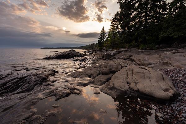 Evening LIght on Lake Superior