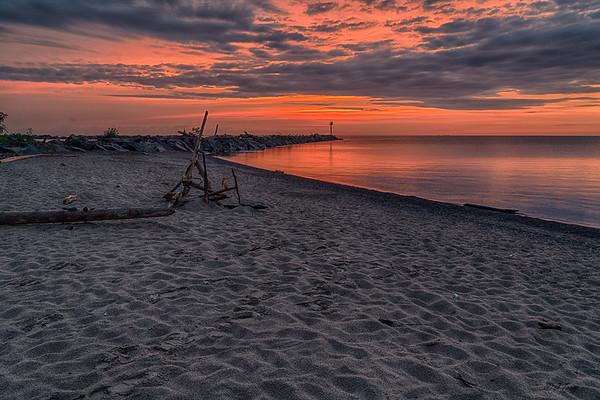 Black River Harbor Sunset