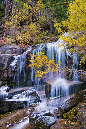 Autumn Chill, Whitney Portal Fall, Lone Pine Creek