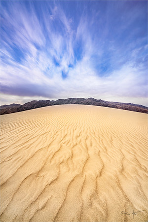 Sand and Sky, Mesquite Flat Dunes, Death Valley