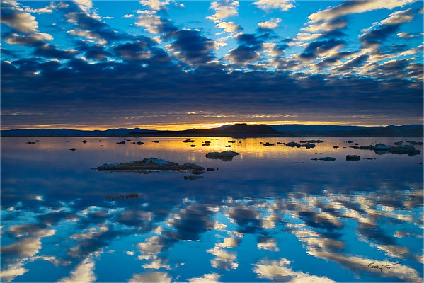 Sunrise Mirror, Mono Lake