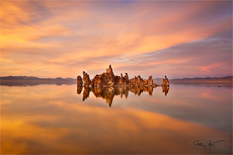Serenity, South Tufa, Mono Lake