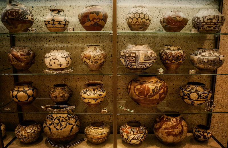 Barnes Museum - Wooden Vases-1