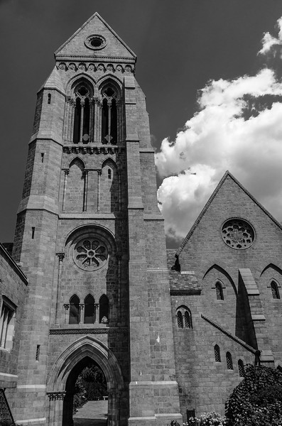 Bryn Athyn Cathedral - Exterior of Church-0096