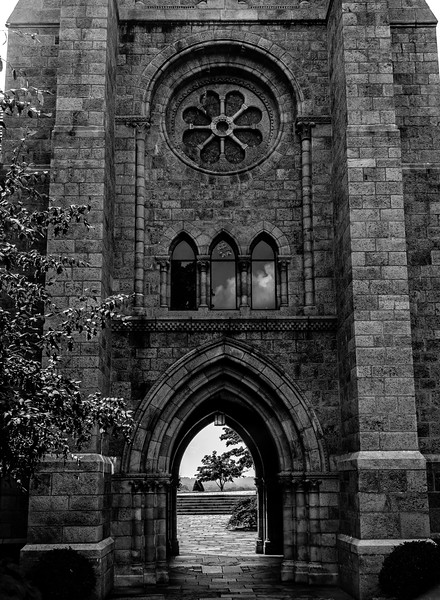 Bryn Athyn Cathedral - Exterior of Chuch-0076
