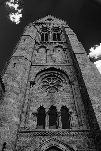 Bryn Athyn Cathedral - Exterior of Church-0093