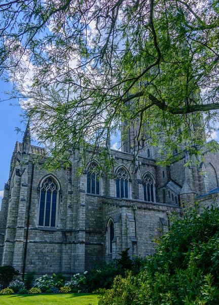 Bryn Athyn Cathedral - Exterior of Chuch-0070