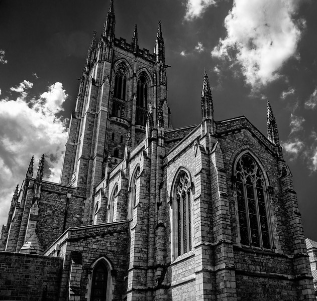 Bryn Athyn Cathedral - Exterior of Chuch-0075