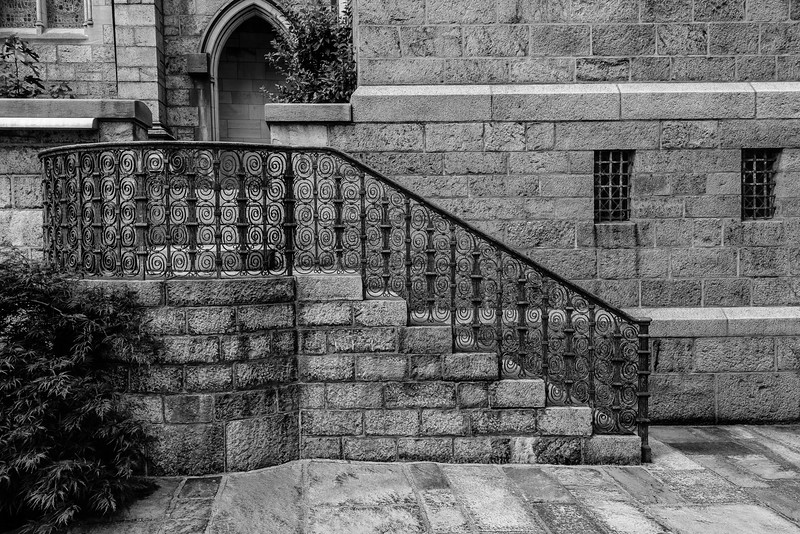 Bryn Athyn Cathedral - Stairway to    -0095