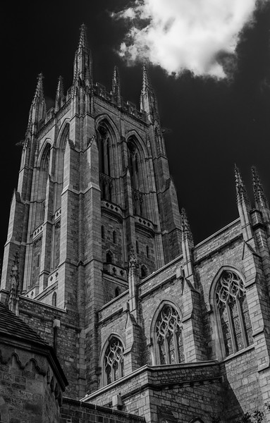 Bryn Athyn Cathedral - Exterior of Chuch--0078