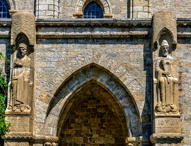 Bryn Athyn Cathedral - Exterior of Church-0108