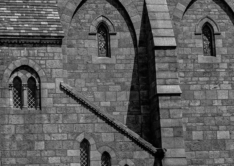 Bryn Athyn Cathedral - Exterior of Church-0098