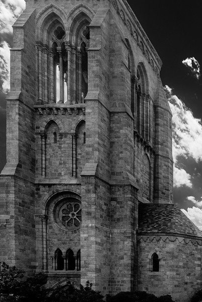 Bryn Athyn Cathedral - Exterior of Chuch-0074