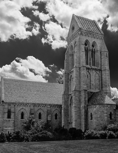 Bryn Athyn Cathedral - Exterior of Chuch-0072
