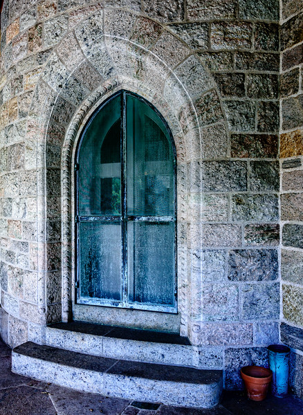 Bryn Athyn Cathedral - Doorway to Churchl-0040