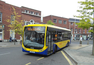 407 - YJ06FZK - Norwich (Castle Meadow) - 30.7.12