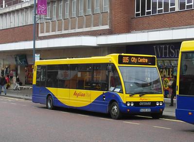 319 - AU58AKK - Norwich (St Stephen's Street) - 30.7.12