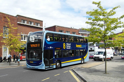 609 - SN61CZZ - Norwich (Castle Meadow) - 30.7.12